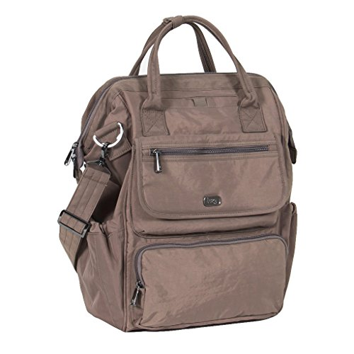 Price comparison product image Lug Women's Via Tote Backpack,  Multipurpose Luggage,  Walnut Brown