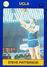 Autograph Warehouse 102561 Steve Patterson Basketball Card Ucla 1991 Collegiate Collection No. 85