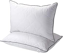 Pillows,Sable 2 Pack Hotel Collection Bed Pillows for Sleeping with FDA Registered Luxury Down Alternative, Adjustable Sof...