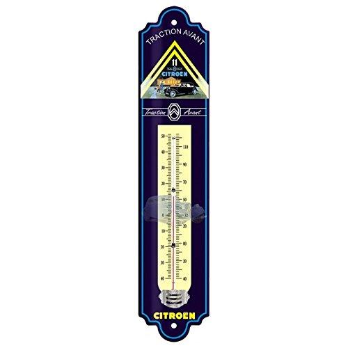 Editions Clouet 57044 - Thermomètre 30x8 cm Citroen - Traction Avant