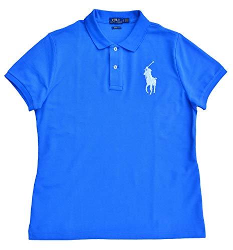 Ralph Lauren Big Pony Skinny Slim Fit - Polo para mujer (talla...