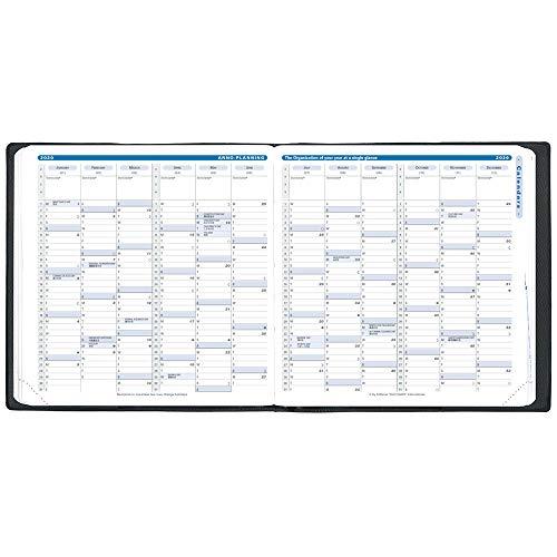 クオバディス2020年手帳4月始まりエグゼクティブ4/アンパラブルーqv66201bl