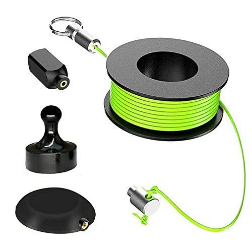 Wiremag Puller, Afaneep Magnetic Guía Pasa Cables Herramienta de Pesca de Cable...