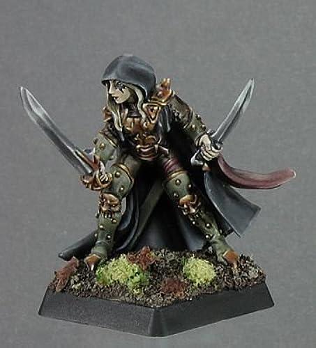 Deladrin, Female Assassin by Reaper Miniatures