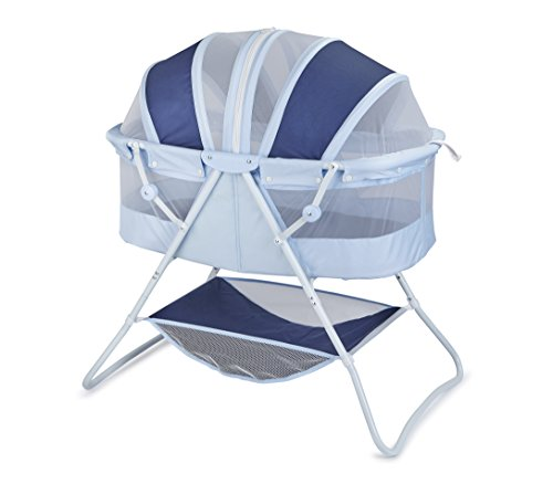 Lowest Price! Big Oshi Emma Newborn Baby Bassinet - Portable Bassinet for Boys or Girls - Perfect fo...