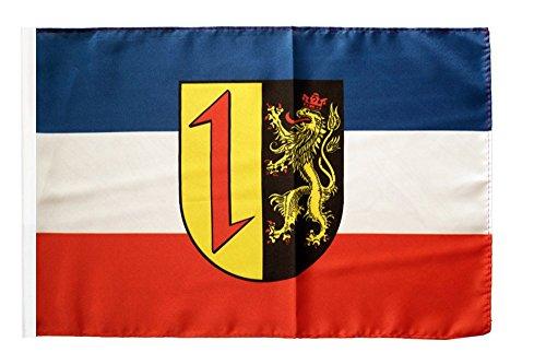 Flaggenfritze® Flagge Deutschland Stadt Mannheim - 30 x 45 cm