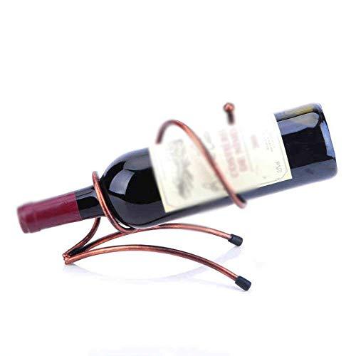 Estante para Vino Tradicional Estante para Botellas Estante para Vino Sala Estante para Vino Sala, Estante para Vino Reinicia, Estante para Vino Decorativo, Estantes para Vino Hierro Trigle Cono Gunm