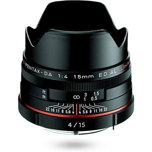 HD PENTAX-DA 15mmF4ED AL Limited ブラック 超広角レンズ, 優れた携帯性と上質で個性的なデザインにこだわったDAリミテッドレンズ, APS-C専用設計, 圧倒的な小型軽量設計, 存在感のあるアルミ削り出しボディ, ペンタックス一眼 Kシリーズはボディ内手ぶれ補正搭載 21470