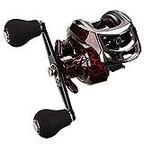 BNTTEAM Carrete de Pesca Baitcasting, Carrete de Pesca de diseño Compacto de 7,65 oz,...