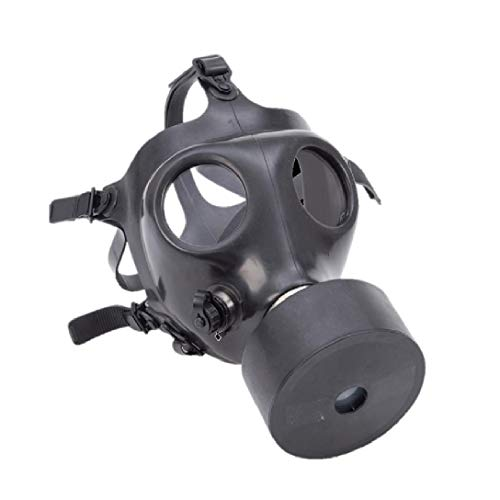 Israeli Gas Mask and Straw with NATO Specifications NBC 40mm Filter