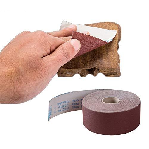 OMAS 10meter 80-1000 Grit 4.5 Inch (115 mm) Emery doek Roll Polijsten Schuurpapier voor slijpen Polijstgereedschappen Metaalbewerking Dreme 120