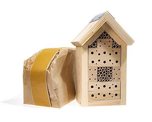 YAKEBA | Insektenhotel Bausatz | Made in Germany | aus einheimischem Holz