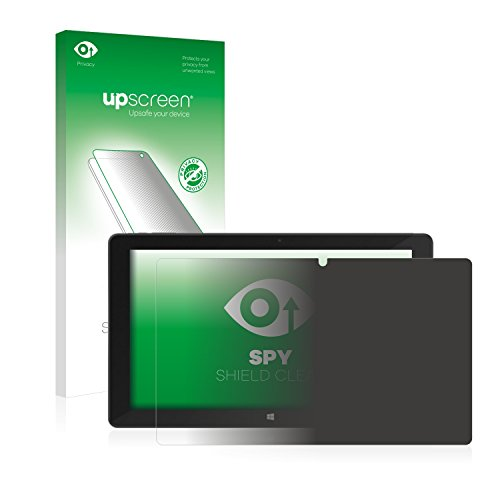 upscreen Anti-Spy Blickschutzfolie kompatibel mit TrekStor SurfTab Duo W2 Privacy Screen Sichtschutz Bildschirmschutz-Folie