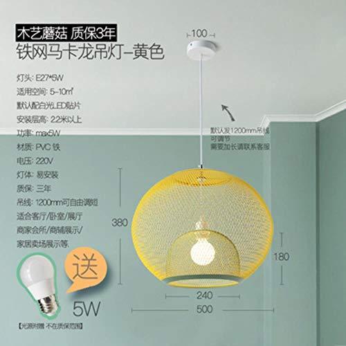 Kelly, lampadario decorativo con cavo E27, design nordico, lampada a sospensione, luce calda