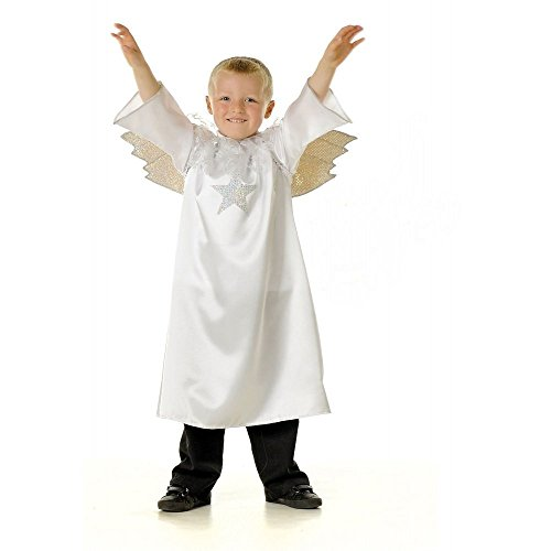 Garçons ou filles ange Gabriel de la Nativité déguisement 5-7 ans