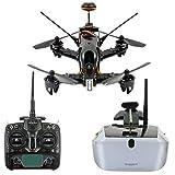 GEHOO GH Walkera F210 Quadricoptère de Course Professionnel de Drone avec Lunettes Goggle4 FPV / Emetteur Devo 7 / 700TVL Caméra...