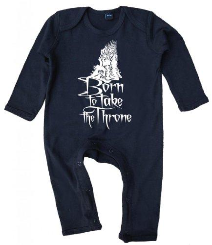 Image Vêtements bébé, Born to Take The Throne, bébé Barboteuse, 6-12m, Noir