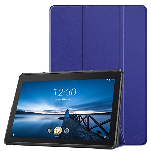 Fintie Lenovo Tab E10 case - ultra-thin super light protective case with stand function for Lenovo Tab E10 TB-X104F 10.1 inch tablet 2019 (not for Lenovo Tab M10), Blauw