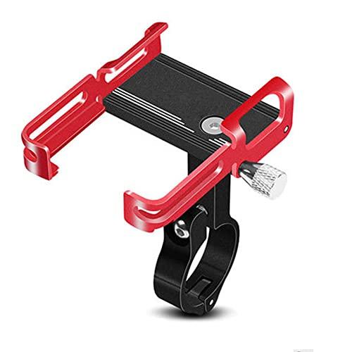 WYYUE Support Téléphone Vélo, Support Téléphone De Moto Support De Guidon 360° Rotation, Support Téléphone De Vélo Antidérapant,Convient À La Plupart des Smartphones