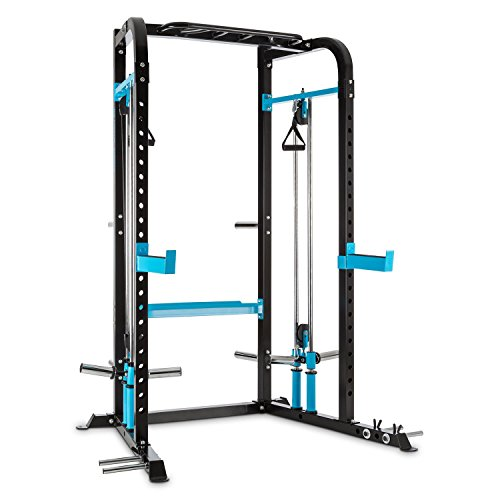 Capital Sports Tremendi Power Rack - 22-stufig, Stahl, schwarz