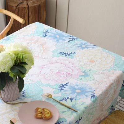 XXDD Manteles Modernos para manteles rectangulares de Pascua Paños de sillas para Bodas Fiestas Infantiles Decoraciones para el hogar Tela A1 150x210cm