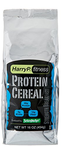 Harry P. Fitness Protein Cereal, Strength Breakfast, 16 Ounce from Seitenbacher America