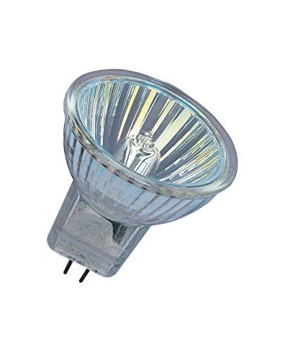 Osram DecoStar Halogen-Reflektor, GU5.3-Sockel, dimmbar, 12 Volt, 20 Watt, 36 ° Abstrahlungswinkel, Warmweiß - 2800K, 10er-Pack