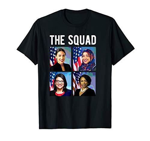 Squad AOC Rashida Tlaib Ilhan Omar Ayanna Pressley WOC Meme T-Shirt