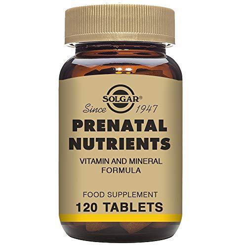 Solgar Neomam Integratore Alimentare a Base di Vitamine e Minerali Utile per la Gravidanza - 120 Tavolette