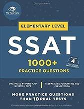 Elementary SSAT: 1000+ Practice Questions