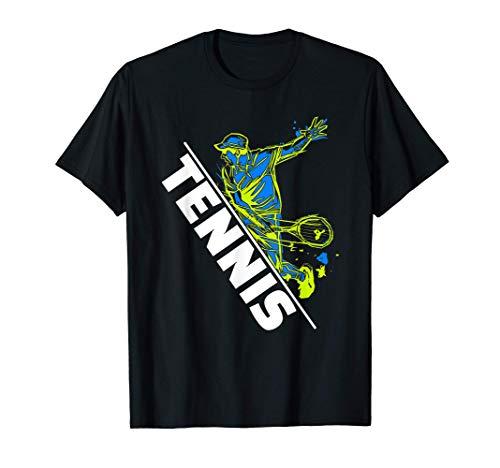 Tennis Geschenk für Tennistrainer oder Tennisspieler T-Shirt