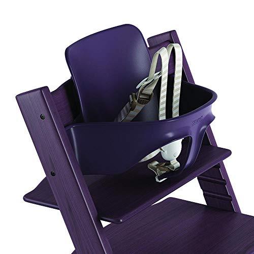 Sale!! Stokke Ergonomic 2019 Tripp Trapp Baby Set with Harness, Plum Purple