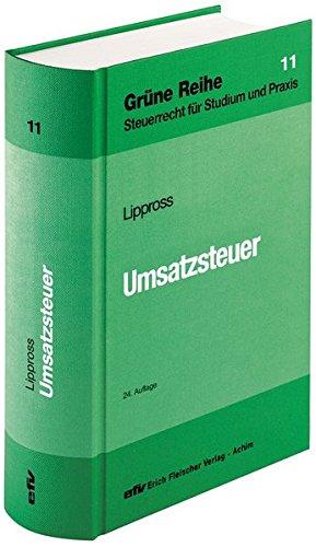 Umsatzsteuer (Grüne Reihe)