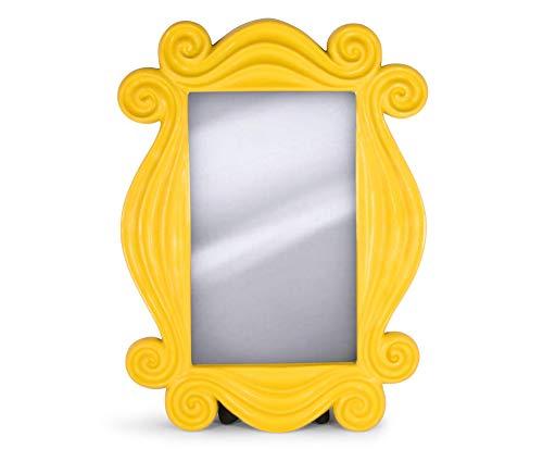 Friends TV Show Yellow Peephole Frame Door Mirror | Hanging Mirror for Entryway, Living Room, Bedroom | Authentic Replica of Friends Door Frame from Monica Geller