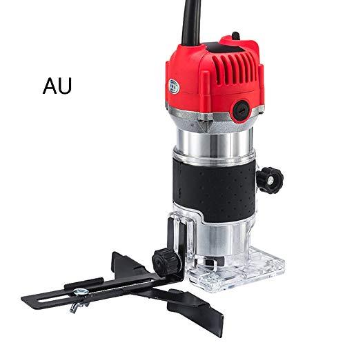 Freesmachine voor frezen van trimmerhout, elektrisch, houtbewerking