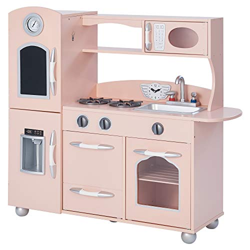 Teamson Classic Collection Kitchen, Wood, Rosa