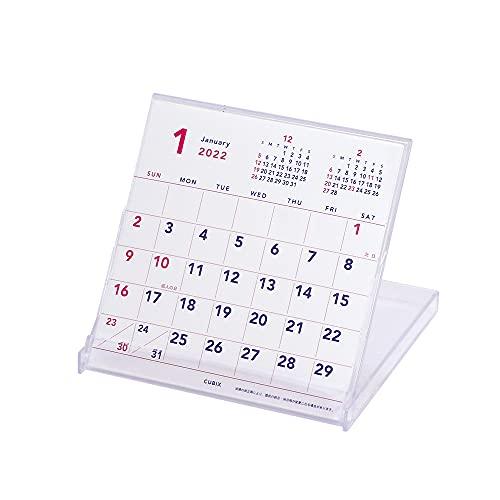 エムプラン キュービックス 2022年 カレンダー 卓上 フロッピー ベーシック 203601-01