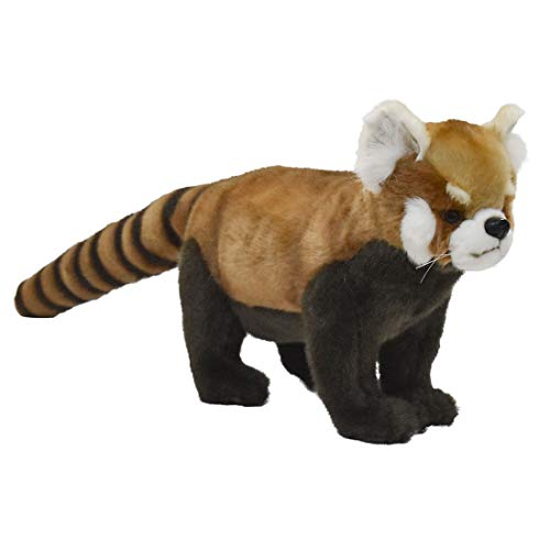 Hansa - Peluche Panda Roux 4 Pattes 23Cmh/40Cml