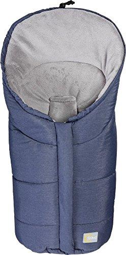 Fillikid Winterfußsack Gr. 0 Fußsäckchen melange blau