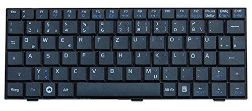 NExpert deutsche QWERTZ Tastatur für ASUS Eee PC 2G 4G 8G 12G Netbook Series Schwarz DE Neu