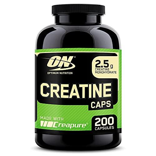 Optimum Nutrition Creatine 2500mg, Creatina en Cápsulas, Suplementos Deportivos de Creatina...