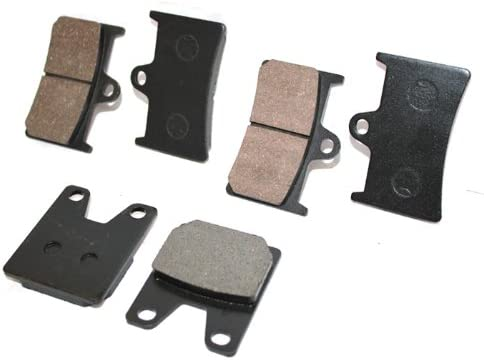 Caltric Front Rear Brake Pads Compatible R1 Yzf 4 discount years warranty Yamaha 1000 With