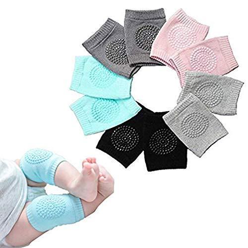 Bosoner BOSONER baby von anti - rutsch - knie, unisex baby kleinkinder kniepolster, einstellbare knie, ellenbogen - pads kriechen, sommer knie die abgabe baby kniepolster beinwärmer 5 paaren