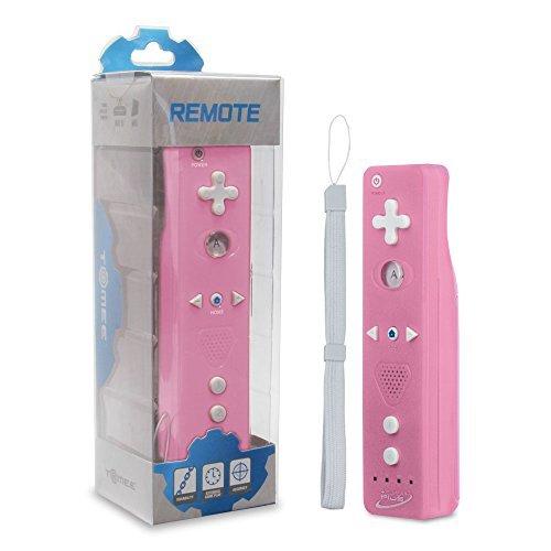 Tomee Super Plus Wireless Remote for Wii U/Wii - Pink