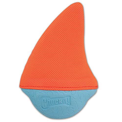 Chuckit CU185001 Amphibious Shark Fin, Schwimmkugel kompatibel mit Werfern, L