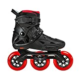 CHENGSYSTE Original PowerSlide i-mperial 3 * 110 mm Velocidad en línea Skates Street Adult Roller Patinaje Zapatos Patines Gratis Patines for Adultos by (Color : Red, Shoe Size : 40)