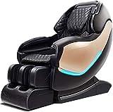 Presidente de masaje Todo el cuerpo de la guía inteligente eléctrica Sofá Sl Rail Manipulador de cabina Espacio Hogar Multi-funcional de lujo sillas de oficina silla de masaje con apoyabrazos / Azul M