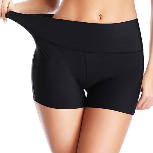 JOYSHAPER Women's Seamless Boyshorts Panties Nylon Spandex Slip Shorts for Under Dresses Anti Chafing Boxer Briefs