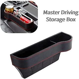 Console Organizer Seat Crevice Storage Box for BMW Black Seat Catcher OYADM Seat Gap Filler Car Pocket