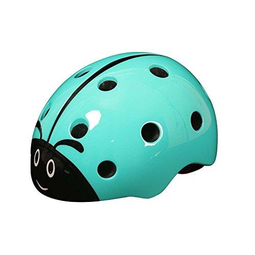 LSERVER-Casco de Bicicleta de los Niños Infantil Casco Seguridad para Bicicleta Animales,...